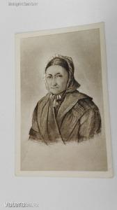 A Pet?fi Centennárium emlékére (1823-1923 január 1.) Pet?fi anyja: Hruz Mária 1842-b?l (*45)