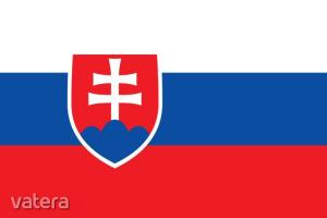 Nemzeti lobogó ország zászló nagy méretű 90x150cm - Szlovákia, szlovák