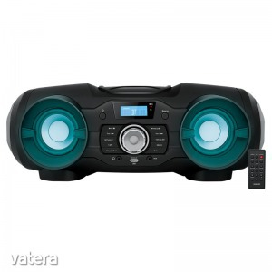 Sencor SPT 5800 - Hordozható rádió, Disco LED, Bluetooth, CD-R/CD-RW/MP3/USB, 2x12,5W