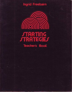 Starting Strategies - Teachers Book