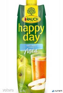 Gyümölcslé, 100%, 1l, RAUCH Happy day, alma mild