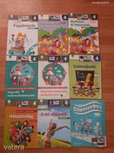 Általános iskola 4. osztály tankönyv csomag