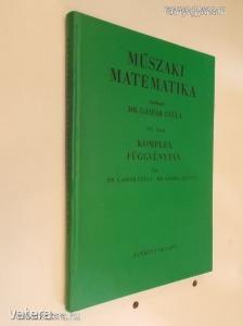 Dr. Gáspár Gyula: Műszaki matematika VI. (*64)