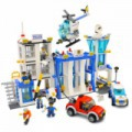 870 darabos LEGO kompatibilis építőjáték POLICE