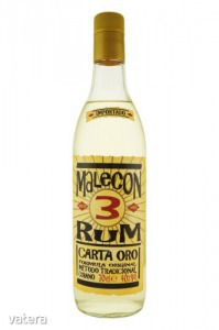 Malecon 3 years 0,7 L 40% - 5715 Ft - Vatera.hu Kép