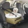 Autós biztonsági kutyaülés - kedvenceink kényelmére!