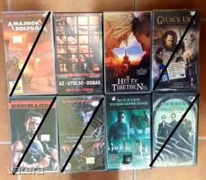 Filmek, mesefilmek vegyesen VHS