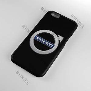 Volvo mintás Samsung Galaxy A6 Plus A6+ tok hátlap tartó