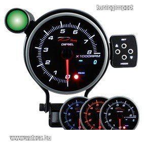 DEPO PK DUAL series gauge 95mm fordulatszám mérő Dízel