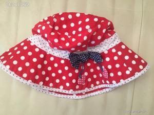 pamut nyári kalap