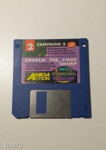 AMIGA Játék Campaign 2 + Charlie the XMAS Chimp - DEMO - G