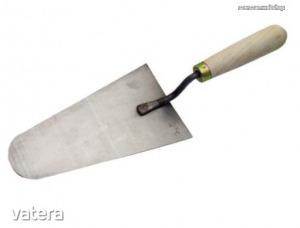 Kőműveskanál 200mm olasz acél Kód:64501