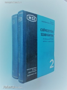 Csővezetéki szabványok I-II. / 3. bővített és átdolgozott kiadás javított utánnyomása (*85)