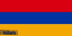Nemzeti lobogó ország zászló nagy méretű 90x150cm - Örményország, örmény