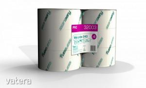 Tubeless MIDI toalettpapír 2 rétegű, fehér, 100% cellulóz, 242m, 12 tek/zsugor
