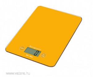 Bompani BOB05AA/E, digitális konyhai mérleg narancssárga színben