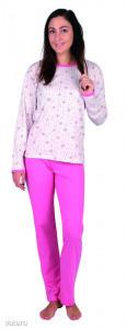 VALERIE női pizsama szett-hosszú méret: XL