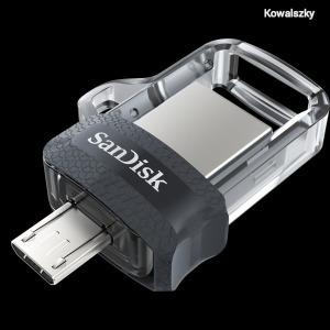 Sandisk 64GB Ultra Dual Drive M3.0 Black SDDD3-064G/173385