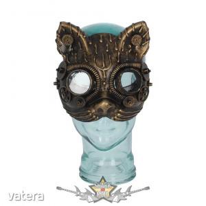 Steampunk - Kinetic Kitten Mask D3679J7. álarc, maszk