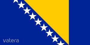 Nemzeti lobogó ország zászló nagy méretű 90x150cm - Bosznia, bosnyák
