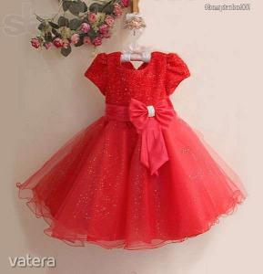 Piros ruha masnival (140) - Vatera.hu Kép