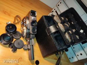 gyönyörű QUARZ 2M 8mm cine videókamera Orosz CCCP