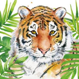 PPD.C1333664 Tropical Tiger papírszalvéta 33x33cm,20db-os