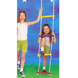 Kötéllétra, 2 m, színes műanyag D-TOYS