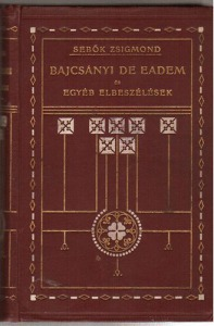 Bajcsányi De Eadem és egyéb elbeszélések