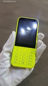 Nokia 225 - Dual Sim - sárga - kártyafüggetlen