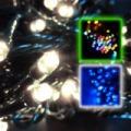 Karácsonyi izzósor / fényfüzér - 240 LED, 8 programmal