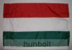 Nemzeti színű hurkolt poliészter zászló 90X150cm