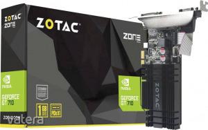 Zotac Grafikus kártya Nvidia GeForce GT710 1 GB DDR3-RAM PCIe x1 HDMI?, DVI, VGA