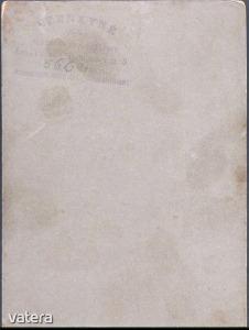 Felvidék, Érsekújvári férfi kartonfotója / CZENKYNÉ fotós munkája - 150 Ft - (meghosszabbítva: 2912875694) Kép