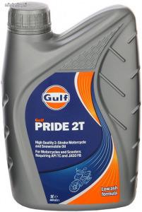 Gulf Pride 2T kétütemű motorkerékpár olaj 1L