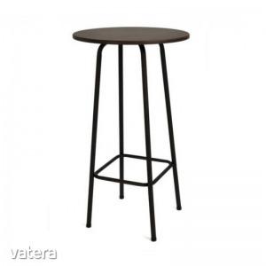 HAILEY BÁRASZTAL 105x60x60 - Festett,  fém vázas bárasztal