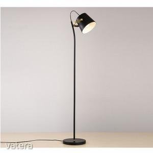 Állólámpa, fekete/bronz,  CINDA TIP 3 YF6047