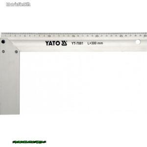 YATO 7080 Asztalos derékszög Alumínium 250mm YT-7080