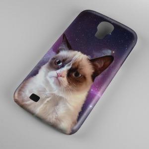 Grumpy cat mintás Samsung Galaxy S5 tok hátlap