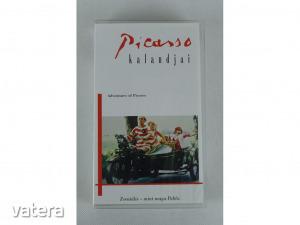 0W420 Picasso kalandjai VHS kazetta