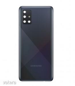 Samsung A515 Galaxy A51 (2020) fekete hátlap