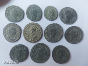Római katonacsászári antoninian éremgyűjtemény!