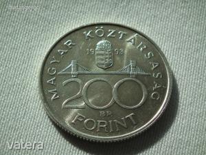1993 ezüst 200 Forint