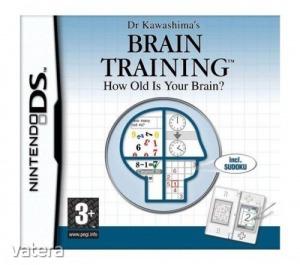 Nintendo DS Játék Dr Kawashimas BRAIN TRAINING - How old is your brain