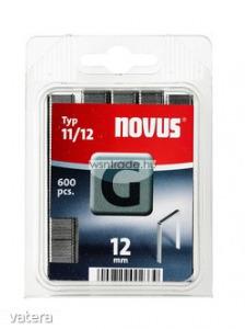 Novus tűzőkapcsok, lapos G 11 12 mm 600 db - Vatera.hu Kép