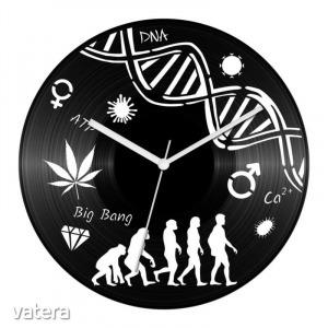 Biológia tanár bakelit óra