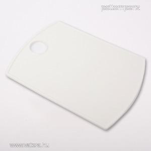 Reggeliződeszka vágódeszka műanyag 36x26 cm