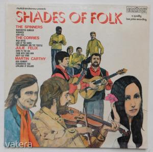 V/A - Shades of Folk LP (EX/VG+) UK