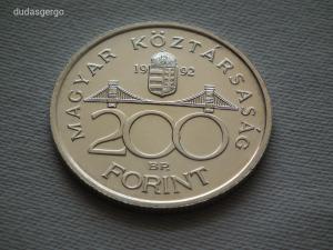 1992 ezüst 200 Forint