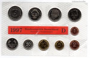 Németország Forgalmi sor 1997 D